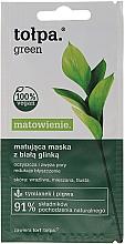 Parfumuri și produse cosmetice Mască de față cu efect matifiant - Tolpa Green Mask