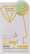 Parfumuri și produse cosmetice Mască cu iarbă de limon și efect iluminant pentru față - Dewytree Whitening Deep Mask