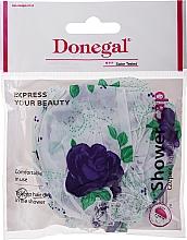 Parfumuri și produse cosmetice Шапочка для душа, 9298, синие розы - Donegal Shower Cap