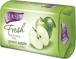 "Parfumuri și produse cosmetice Săpun ""Măr verde"" - Luksja Fresh Green Apple Moisturizing Soap"