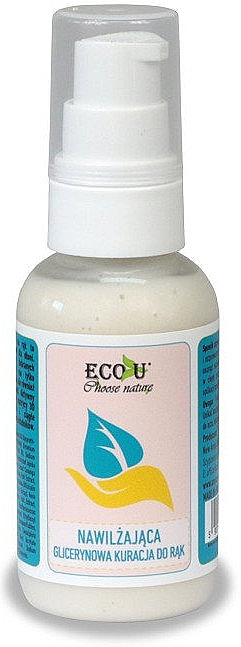 Ser hidratant cu glicerină pentru mâini - Eco U — Imagine N1
