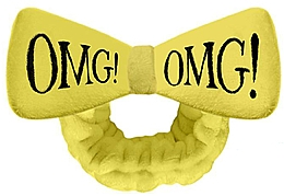 Parfumuri și produse cosmetice Bentiță cosmetică, galbenă - Double Dare OMG! Yellow Hair Band