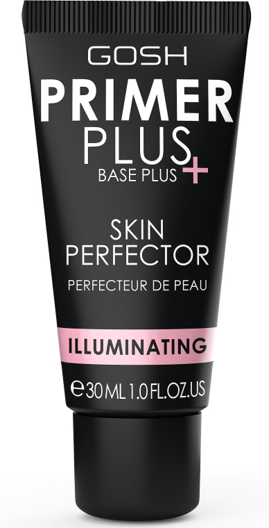 Bază pentru make-up - Gosh Primer Plus+ Illuminating Skin Perfector — Imagine N1