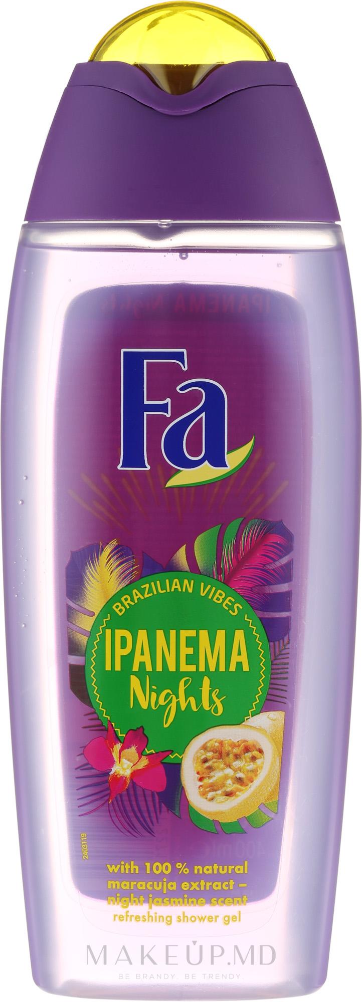 Gel de duș - Fa Ipanema Nights Shower Gel — Imagine 250 ml