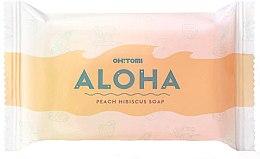 Parfumuri și produse cosmetice Săpun natural - Oh!Tomi Aloha Peach Hibiscus Soap