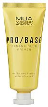 Parfumuri și produse cosmetice Primer matifiant pentru față, aromă de banană - Mua Pro/ Base Banana Blur Primer