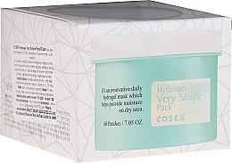 Parfumuri și produse cosmetice Patch-uri pentru față - Cosrx Hydrogel Very Simple Pack