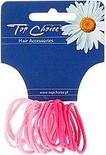 Parfumuri și produse cosmetice Elastice de păr 20 bucăți, 22388 - Top Choice