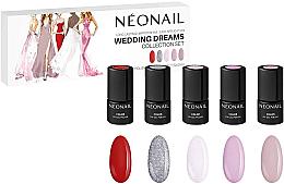 Parfumuri și produse cosmetice Set - NeoNail Professional Wedding Dreams Collection Set (nail/polish/3mlx5)