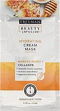 Parfumuri și produse cosmetice Mască de față - Freeman Beauty Infusion Hydrating Cream Mask Manuka Honey + Collagen (miniatură)