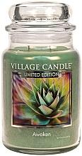 Parfumuri și produse cosmetice Lumânare aromată în borcan - Village Candle Sea Awaken Candle