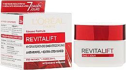 Parfumuri și produse cosmetice Cremă hidratantă de zi, cu efect anti-îmbătrânire - L'Oreal Paris Revitalift Hydrating Day Cream