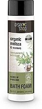 """Parfumuri și produse cosmetice Spumă de baie """"Elasticitatea pielii: plante provensale"""" - Organic Shop Organic Melissa and Rosemary Antistress Bath Foam"""
