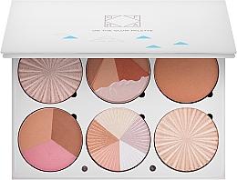 Parfumuri și produse cosmetice Paletă contouring pentru față - Ofra Highlighting and Bronzing Pro Palette On the Glow