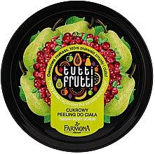 Parfumuri și produse cosmetice Peeling pentru corp cu zahăr - Farmona Tutti Frutti Sugar Scrub