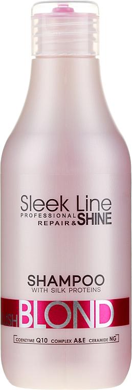 Șampon de păr - Stapiz Sleek Line Blush Blond Shampoo