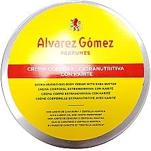 Parfumuri și produse cosmetice Alvarez Gomez Agua De Colonia Concentrada Crema de Karite Corporal - Cremă pentru corp