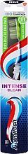 "Parfumuri și produse cosmetice Зубная щетка средней жесткости ""Intense Clean"", салатовая - Aquafresh Intense Clean Medium"