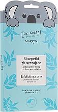 Parfumuri și produse cosmetice Mască-șosete exfoliante pentru picioare - Marion Dr Koala Exfoliating Socks