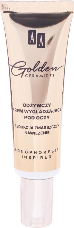 Cremă hidratantă, pentru zona din jurul ochilor - AA Cosmetics Golden Conditioning and Smoothening Eye Contour Cream — Imagine N2