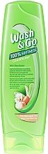 Parfumuri și produse cosmetice Balsam cu unt de shea pentru păr deteriorat - Wash&Go