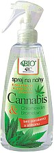 Parfumuri și produse cosmetice Spray pentru picioare - Bione Cosmetics Cannabis Foot Spray With Triethyl Citrate And Bromelain