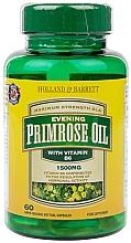 """Parfumuri și produse cosmetice Supliment alimentar """"Ulei de Primula de seara"""" - Holland & Barrett Evening Primrose Oil 1500mg Plus Vitamin B6"""