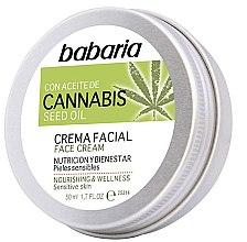 Parfumuri și produse cosmetice Cremă de față - Babaria Cannabis Seed Oil Face Cream