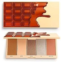 Parfumuri și produse cosmetice Paletă de machiaj - I Heart Revolution Chocolate Face Palette Waffle