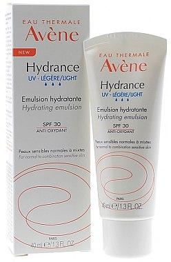 Emulsie pentru față - Avene Eau Thermale Hydrance Light Hydrating Emulsion SPF 30 — Imagine N1