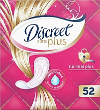 Духи, Парфюмерия, косметика Прокладки ежедневные Normal Plus, 52 шт - Discreet Zone Plus