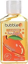 """Parfumuri și produse cosmetice Gel antibacterian de curățare pentru mâini """"Mango"""" - Bubble T Cleansing Hand Gel"""