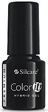 Parfumuri și produse cosmetice Gel lac de unghii - Silcare Color IT Premium Hybrid Gel