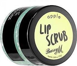 """Parfumuri și produse cosmetice Scrub pentru buze """"Măr"""" - Barry M Lip Scrub Peeling Apple"""