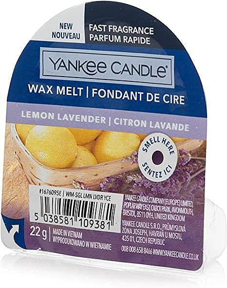 Ceară aromată - Yankee Candle Lemon Lavender Wax Melt