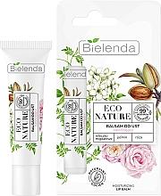 Parfumuri și produse cosmetice Balsam de buze - Bielenda Eco Nature Almond Milk, Jasmine & Rose Moisturizing Lip Balm
