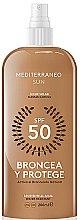 Parfumuri și produse cosmetice Loțiune pentru bronz - Mediterraneo Sun Suntan Lotion SPF50