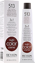 Parfumuri și produse cosmetice Balsam tonifiant pentru păr - Revlon Professional Nutri Color Creme 3 in 1