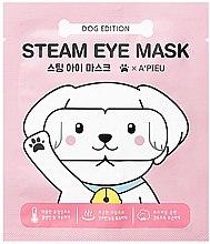 Parfumuri și produse cosmetice Mască pentru zona ochilor - A'pieu Steam Eye Mask Dog Edition
