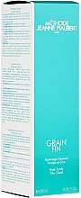 Parfumuri și produse cosmetice Gomaj de corp - Methode Jeanne Piaubert Grain Fin Body Scrub Silky Cloud