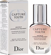 Parfumuri și produse cosmetice Ser pentru pielea din jurul ochilor - Dior Capture Youth Age-Delay Advanced Eye Treatment