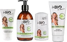 """Набор """"Бамбук и лемонграсс"""" - BeBio Bamboo And Lemongrass (sh/gel/400ml + b/lot/200ml + hand/cream/75ml + deo/50ml) — фото N1"""
