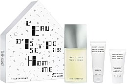 Parfumuri și produse cosmetice Issey Miyake LEau DIssey Pour Homme - Set (edt/125ml + sh/gel/75ml + a/sh/balm/50ml)