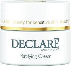 Parfumuri și produse cosmetice Cremă hidratantă matifiantă - Declare Matifying Hydro Cream