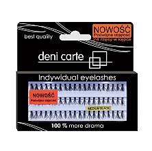 Parfumuri și produse cosmetice Gene false, volum dublu - Deni Carte Fake Eyelashes M