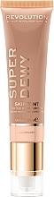 Parfumuri și produse cosmetice Cremă tonifiantă hidratantă pentru față - Makeup Revolution Superdewy Skin Tint