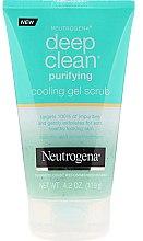 Parfumuri și produse cosmetice Gel-scrub pentru față - Neutrogena Skin Detox Cooling Gel Scrub