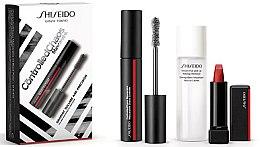 Parfumuri și produse cosmetice Set - Shiseido Controlled Chaos MascaraInk (mascara/11,5ml + lipstick/2,5g + remover/30ml)