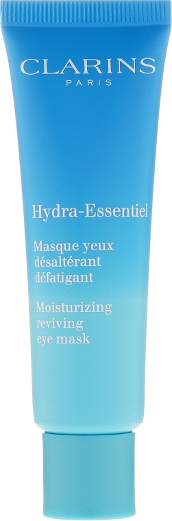 Masca pentru contur de ochi - Clarins Hydra-Essentiel Moisturizing Reviving Eye Mask — Imagine N2
