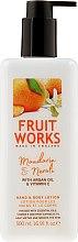 """Parfumuri și produse cosmetice Loțiune de corp """"Mandarină și neroli"""" - Grace Cole Fruit Works Hand & Body Lotion Mandarin & Neroli"""